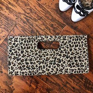 Giannini Animal Print Clutch Bag